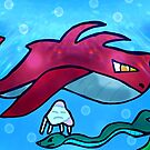 under water fantasy creatures  by StuartBoyd