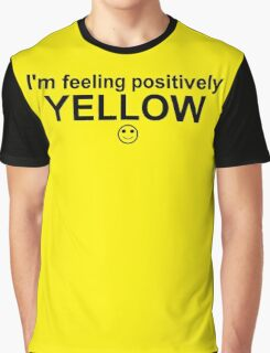Feelings: Yellow Graphic T-Shirt