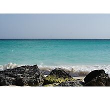 Aruban View of the Atlantic Ocean Photographic Print