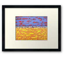 ABSTRACT 434 Framed Print