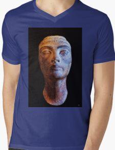 Unfinished Nefertiti Mens V-Neck T-Shirt