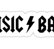 MUSIC / BAND - 30 Rock - Music Band Sticker