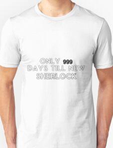 Sherlock NEW Series Countdown Unisex T-Shirt