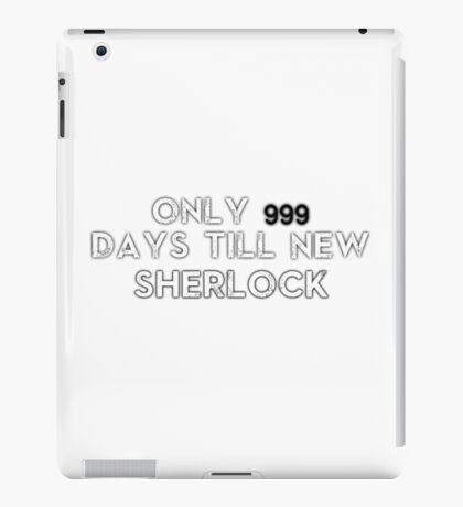 Sherlock NEW Series Countdown iPad Case/Skin