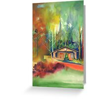 The Halfway House, Gleneagles Greeting Card