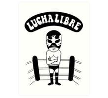 La Luchador Art Print