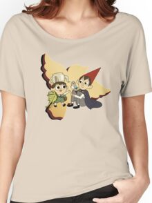 Over the Garden Wall red Women's Relaxed Fit T-Shirt