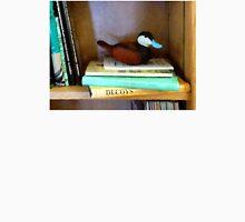 Duck Decoy on Bookshelf Unisex T-Shirt
