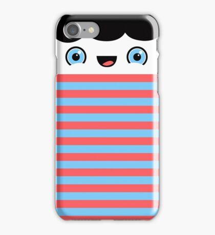 Stripey McGee iPhone Case/Skin