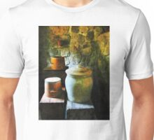 Ginger Jars and Buckets Unisex T-Shirt