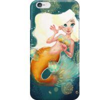 Ariana the Golden Mermaid iPhone Case/Skin