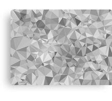Triangle background Canvas Print