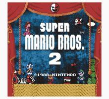 Super Mario Bros 2 Baby Tee