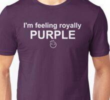Feelings: Purple Unisex T-Shirt