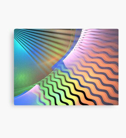 Interstellar Waves Metal Print