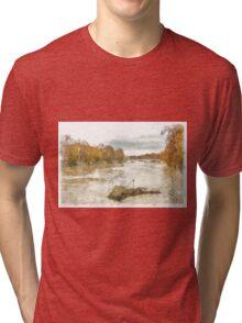 Rome: Tiber River Tri-blend T-Shirt