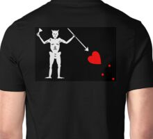 Jolly Roger, PIRATE, FLAG, Edward Teach, Skull & Crossbones, Cutlass, Swords, Pirate, Crew, Buccaneer Unisex T-Shirt