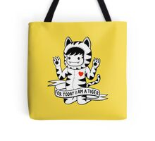 For today I am a tiger Tote Bag