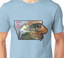 Iowa State Map with Nickname Unisex T-Shirt