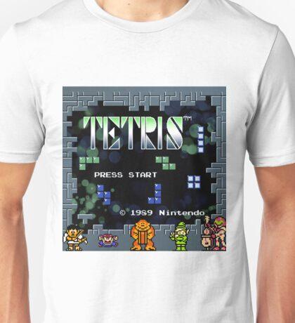 Tetris - Nintendo Unisex T-Shirt
