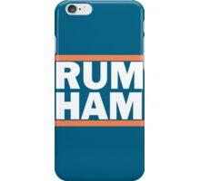 Rum Ham Orange iPhone Case/Skin