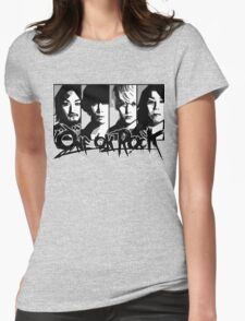 one ok rock! t shirt Womens Fitted T-Shirt