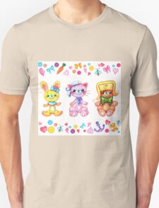 Cute set of animals for kids T-Shirt