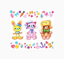Cute set of animals for kids Unisex T-Shirt