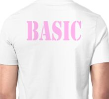BASIC, in Pink,  Beginner's All purpose Symbolic Instruction Code Unisex T-Shirt