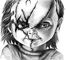 Hi, I'm Chucky, wanna play? by Renata Ilciukaite