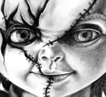 Hi, I'm Chucky, wanna play? Sticker