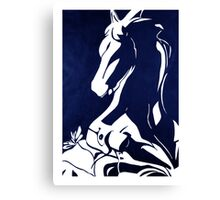 Horse + Cricket Canvas Print