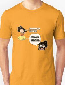 Nothing To Do Here: Goku & Chichi Unisex T-Shirt
