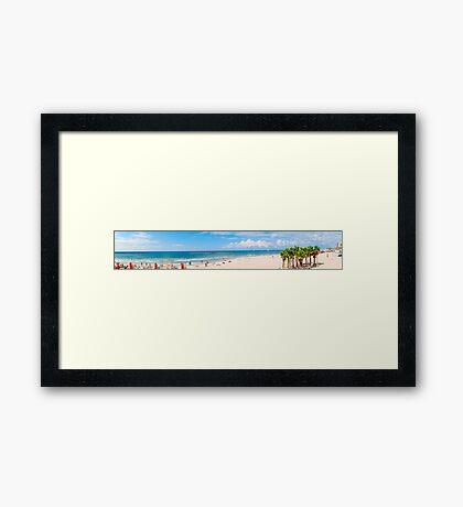 Frishman Beach, Tel Aviv, Israel  Framed Print