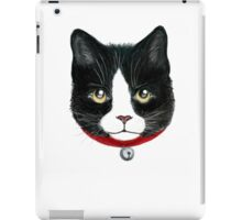 Cat black and white iPad Case/Skin