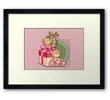 Teddy`s Gifts Framed Print