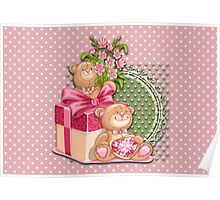 Teddy`s Gifts Poster