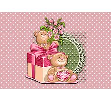 Teddy`s Gifts Photographic Print