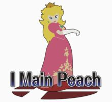 I Main Peach - Super Smash Bros Melee by PrincessCatanna