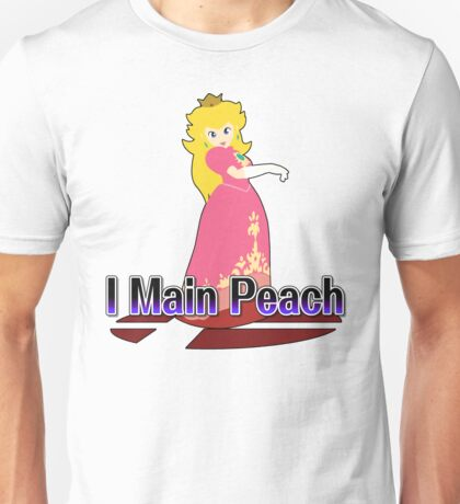 I Main Peach - Super Smash Bros Melee Unisex T-Shirt