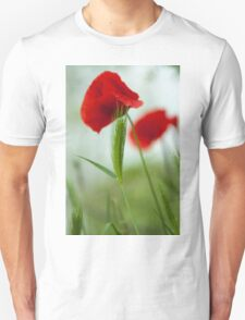 Red poppy  T-Shirt