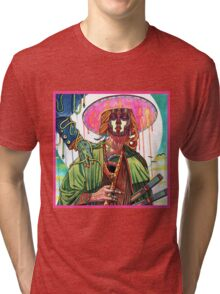 El huervo samurai Tri-blend T-Shirt