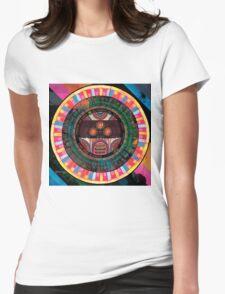 El huervo mask Womens Fitted T-Shirt