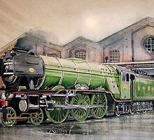 The Flying Scotsman by JohnLowerson