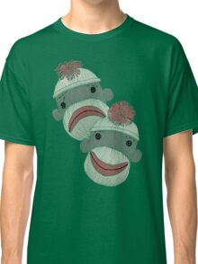Tragedy and Comedy Sock Monkeys Classic T-Shirt