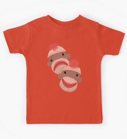 Tragedy and Comedy Sock Monkeys Kids Clothes