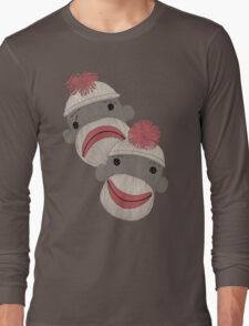 Tragedy and Comedy Sock Monkeys T-Shirt
