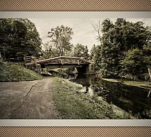 The Delaware Canal Border by GalleryThree
