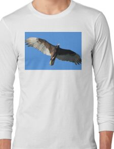 Turkey Vulture in Flight Long Sleeve T-Shirt