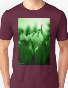 Snowdrop Abstract T-Shirt